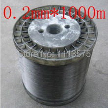 0.2mm diameter,soft condition,1000 meters,304,321,316 stainless steel soft wire, stainless steel wire,free shipping