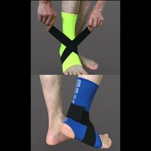 2017 New Ankle Bandage Elastic Brace Guard Support Sport Gym Foot Wrap Protection Sports Safety Ankle Support Strong 1 PCS