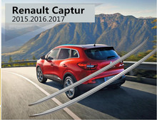 For Renault Captur 2015.2016.2017 Roof Racks Auto Luggage Rack High Quality New Aluminum/ABS Paste Installation Car Accessories