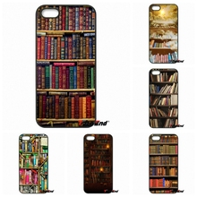 Vintage Library Look Books Shelves Phone Cases Cover For Motorola Moto E E2 E3 G G2 G3 G4 PLUS X2 Play Style Blackberry Q10 Z10
