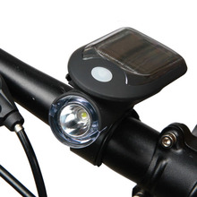Bicycle Bike Solar Lights USB Charging 240 Lumen 3w 1000 MA 3 model style cycling handlebar light Mountain Road Bike Light