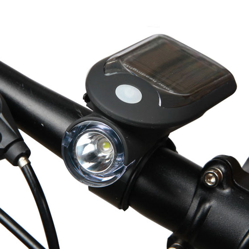 Bicycle Bike Solar Lights USB Charging 240 Lumen 3w 1000 MA 3 model style cycling handlebar light Mountain Road Bike Light(China (Mainland))
