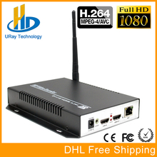 H.264 /AVC 1080P HD HDMI Encoder For IPTV, H.264 Server IPTV Encoder WIFI /Wireless HDMI to IP Video Streaming Transmitter