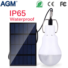 AGM LED Solar Power Light Lamp Portable Led Bulb Luminaria Tent Flashlight Solar Energy Panel Outdoor Sunlight Garden Camping
