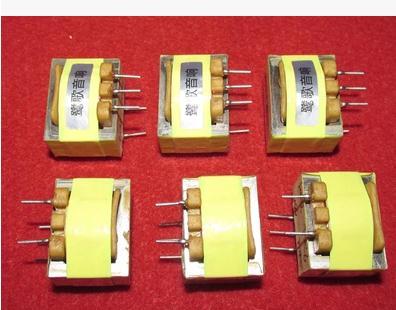 2PCS E25 permalloy 600: 10K audio signal isolation transformer 20Hz ~ 20KHz -0.2DB<br>
