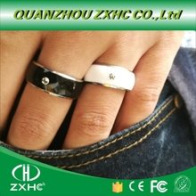 Waterproof Intelligent Magic Smart NFC Finger Ring Tag for Android Titanium Material