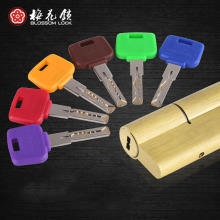 2017 C Grade Anti-theft Door Lock Core Anti-riot Anti-interrupted Locks Anti-foil Colorful 6 Keys Open Door Mechanical Lock