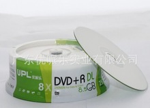 5 discs Less than 0.3% Defect Rate UPL A+ 8.5 GB Blank Printable DVD+R DL Disc