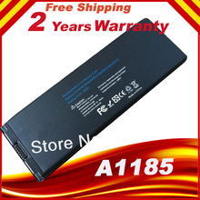 "Special price Replacement Laptop Battery for MacBook 13"" inch A1181 A1185 MA566 MA566FE/A Black FREE shipping(China)"