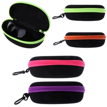 Universal Sunglasses Lense Storage Organizer Holder Box Compression Eyeglass Case Para Glasses Eyewear Box Cover Zipper Hook Bag