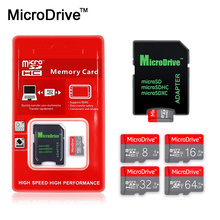 Crazy Hot sale 8GB 16gb Class 10 Micro sd Card 32gb 64gb SDHC/SDXC memory card 4gb class 6 tf card microsd with Free sd adapter(China)