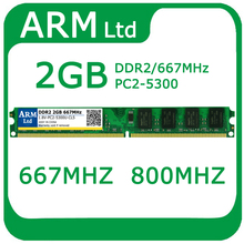 DDR2 2GB RAM 667Mhz/ 800Mhz/533Mhz 1GB 2GB 4GB for desktop computer memory For AMD and for Intel system Fast shipping(China)