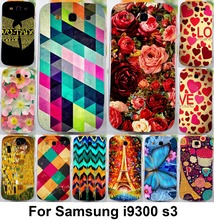 TAOYUNXI soft tpu plastic Flower Phone Case For Samsung Galaxy S III S3 GT-i9300 4.8 inch i9300 I939D DUOS i9300i SIII Neo+ Case(China)