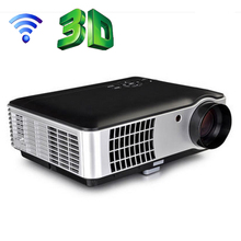 full HD Projetor Smart Android OS WIFI HDMI USB Portable 1080P Home Theater 3D LED Projector TV tuner