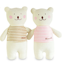 1PCS New Style 42cm Cute Soft Stuffed Animal Bunny Rabbit Plush Bear Toy Baby Girl for Children Gift Pink Khaki A36