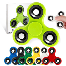 Buy 6PCS/a lot Tri-Spinner Fidgets Toy EDC Sensory Fidget Spinner /Hand Spinner Autism ADHD Kids/Adult Funny Anti Stress Toys for $16.30 in AliExpress store