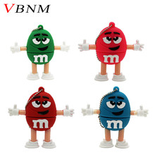 VBNM MM beans model pendrive USB Flash drive Memory stick usb 2.0 thumb drives Pen Drive pendriver 8GB 16GB 32GB U disk gift
