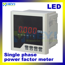 Single phase digital power factor meter COS power factor indicator COS meter LED HY-H(China)