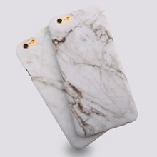 Luxury Smooth Marble Skin Design Phone cases for iphone 6 6s 6 plus 6s plus Hard Carry Protective back covers Bags Hot Sales