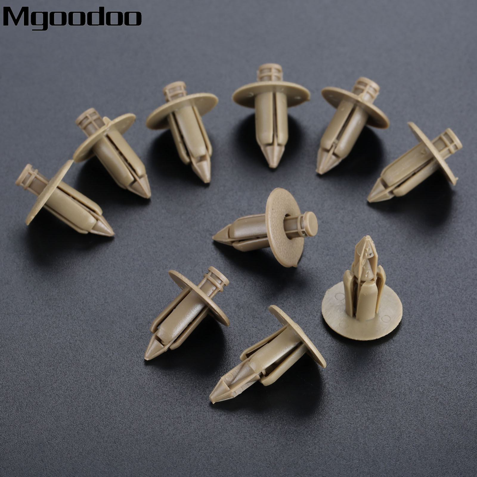 LINING BOOT CLAMPS FOR AUDI PUSH PANEL RIVET TRIM 6-8MM CLIPS FASTENER
