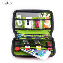 XZJJA  U disk U aegis Storage Boxes Earphone Box Cellphone Cable Data Line Mobile Accessories Organizad Bags Home Office Storage