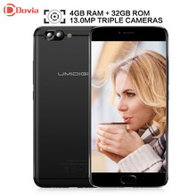 UMIDIGI Z Pro Android 6.0 5.5 inch Helio X27 Deca Core 4GB RAM 32GB ROM 13.0MP Dual Rear Cameras 3780mAh Mobile Phone(China)