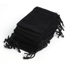 "50Pcs Velvet Drawstring Pouch Bag/Jewelry Bag 7x9cm 2.75x3.54"",Party Holiday New Year Christmas/Wedding Gift Pouch Bag"