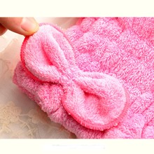 Free Shipping Comfortable Textile Useful Dry Microfiber Turban Quick Hair Hats Wrap Towels Bathing Cap Shower Cap