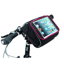 ROSWHEEL Bicycle Ipad Phone Bag Folding Bike Handlebar Bag 7 to 8 Inches Tablet PC Bycicle Bag Foldable Bicycle Front Basket