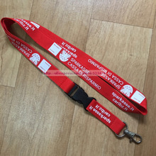 200pcs/lot Cheap custom key neck lanyard Manufacturer with logo with DHL express Free shipping