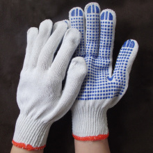 Rubber Blue Beads Work gloves slip-resistant gloves working protective gloves G0413(China)