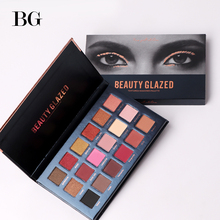Buy BEAUTY GLAZED eyeshadow pallete Long-lasting Make Natural Luminous Matte Shimmer for $4.86 in AliExpress store