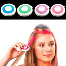 4 Colors/pack Fashion new fast temporary hair dye color Pastel Hair Dye Color Disposable Hair Color powder for hair