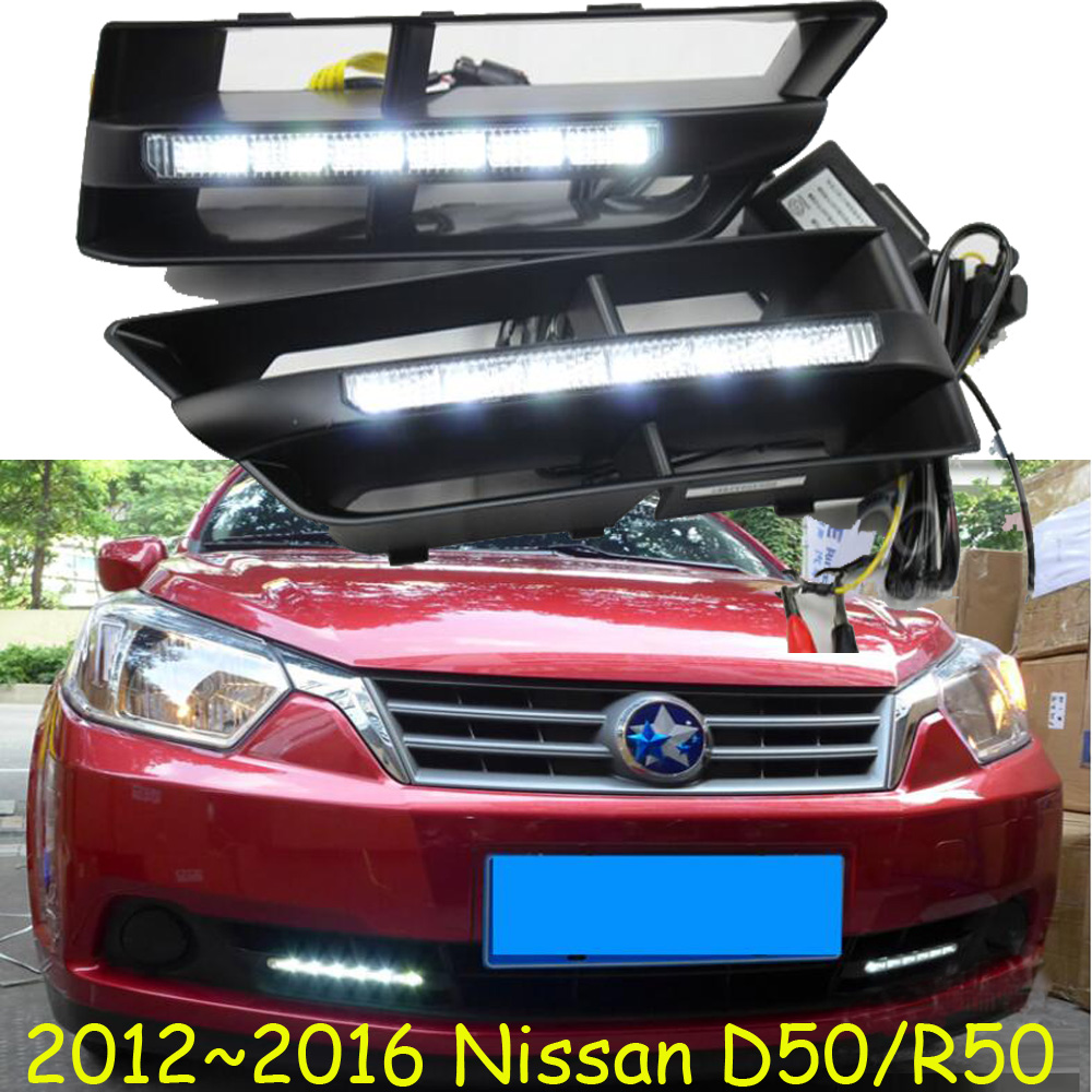 2012~2015 D50 daytime light,Jazz,Free ship!LED,D50 fog light,2ps/set,Teana;Sylphy;R50<br>