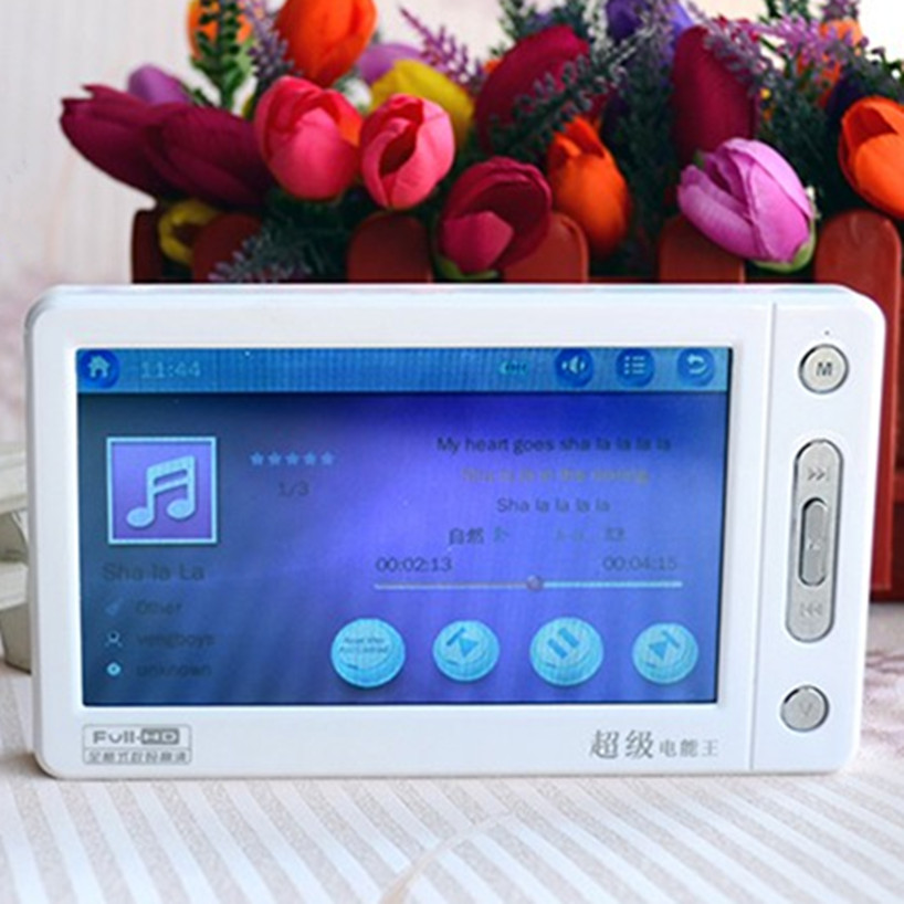 MP5 Player MP4 Music Player 8G 5 Inch Touch Screen Support TV Out Music Video Recording Picture Calculator E-dictionary (9)