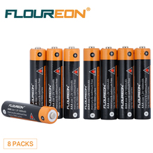 8pcs FLOUREON AAA 1.2V 1000mAh Ni-MH Rechargerable Battery for RC vehicles, Digital Cameras, Game Boys, Remote Controls
