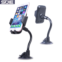 STJIE universal phone holder 360 degree rotating car windshield support mobile car holder for smartphone cell phone