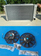 Aluminum Radiator & 2*FANS For Ford EF EF2 EL NF NL DF DL Falcon Fairline Fairmont new performance(China)