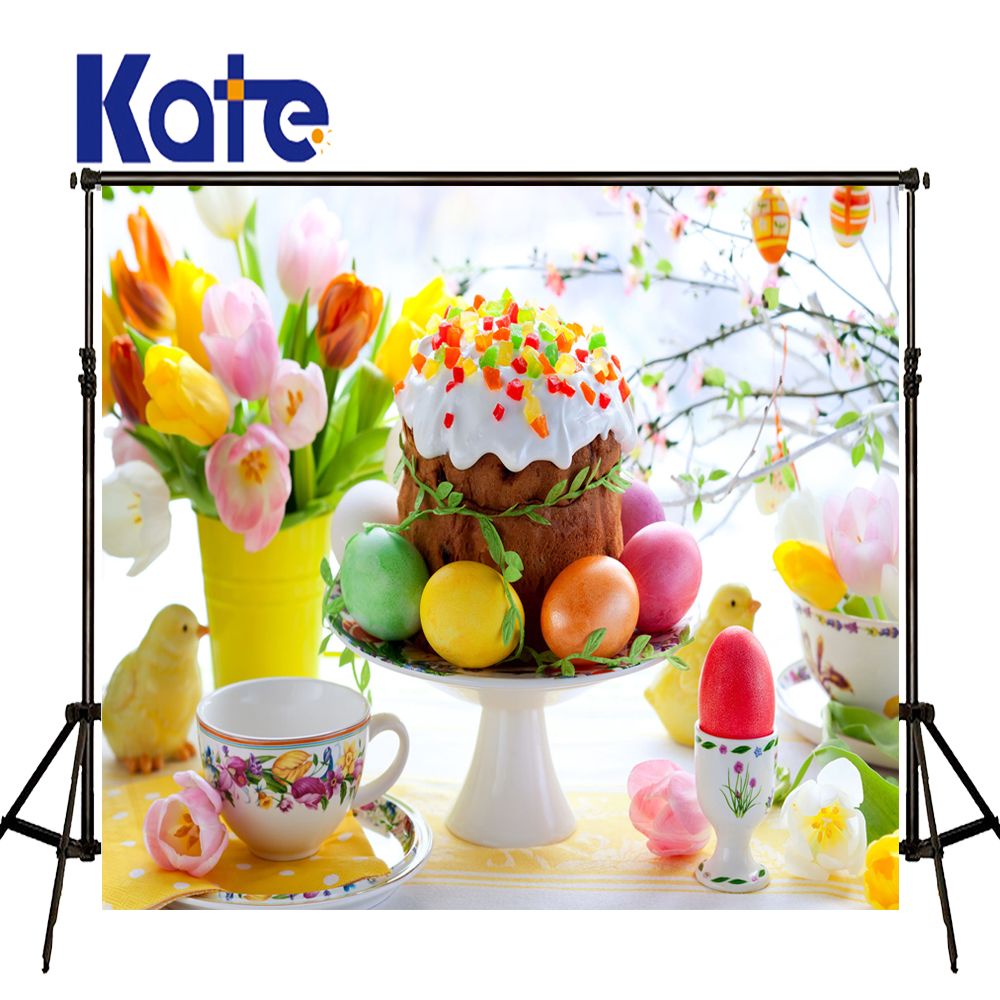 Easter Day Cup Cake Eggs Guarda Roupa Easter Photography Backdrops Zj<br>