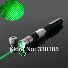 AAA 1PCS 2 in 1 High Power Powerful Green Laser Pointer Pen Beam Light 532nm 1000mW Professional Teaching Training Laser