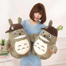 CXZYKING kawaii 30/40cm Totoro Plush Stuffed Animals Toys Soft Kids Toys Plush Toys For Children Gifts for the Girl Cartoon Doll(China)