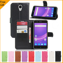 For ZTE A510 Case Luxury PU Leather Back Cover Case For ZTE Blade A510 A 510 Case Flip Protective Phone Bag Skin With Slots(China)