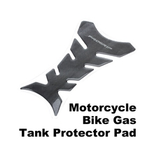 High Quality Black Carbon Fiber Motorcycle Tank Pad Sticker Moto Gas Fuel Tank Pad Protector Decorative Decals