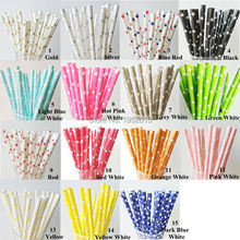 New 25pcs/lot Star Paper Straws For Kids Birthday Wedding Decoration Party Supplies Creative Paper Drinking Straws(China)