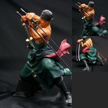 Animation Garage Kid One Piece Baby Toys: BANDAI Action Figure PVC Dolls Roronoa Zoro and Dracule Mihawk Model Excellent Gifts