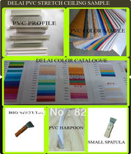 DELAI Sample of PVC Stretch Ceiling Film