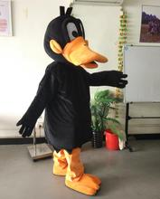ohlees actual picture Daffy Duck Mascot costume for Halloween party activity Fancy christmas adult size