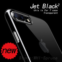 for apple iPhone 7 7 plus case silicone cover clear cellphone ultrathin 7plus TPU transparent silicone case for iPhone 6 6s plus