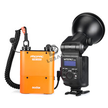 Godox Witstro AD360 360W Powerful Portable Speedlite Pro outdoor Flash Light + PB960 Power Battery Pack Kit Orange Studio flash(China)