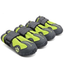 4pcs/set Pet Dog Shoes Truelove All Weather  Fashion Outdoor Waterproof Dog boots 4 Colors Size XS to 4XL